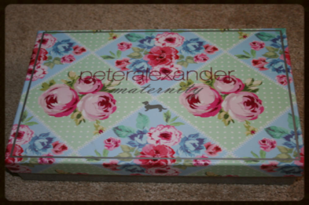 My previous  box - you cant go past a beautiful Peter Alexander gift box!
