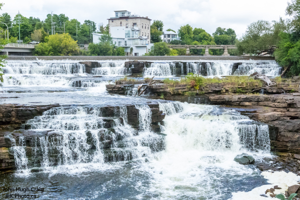 Almonte Waterfalls in the Summer