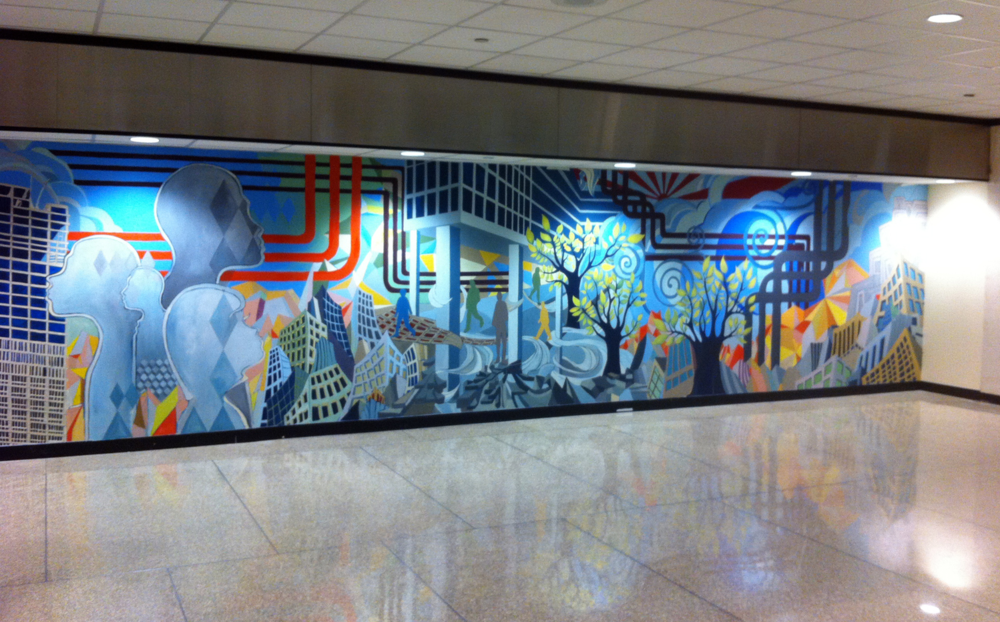 He Painted the Sun , 1285 Avenue of the Americas (2011)