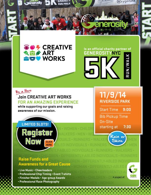 GenerosityNYC_5K_CreativeArtWorks