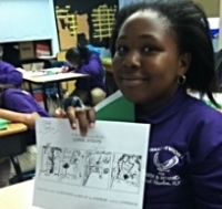 CAW's cartooning class gives students the tools they need to tell their own story.