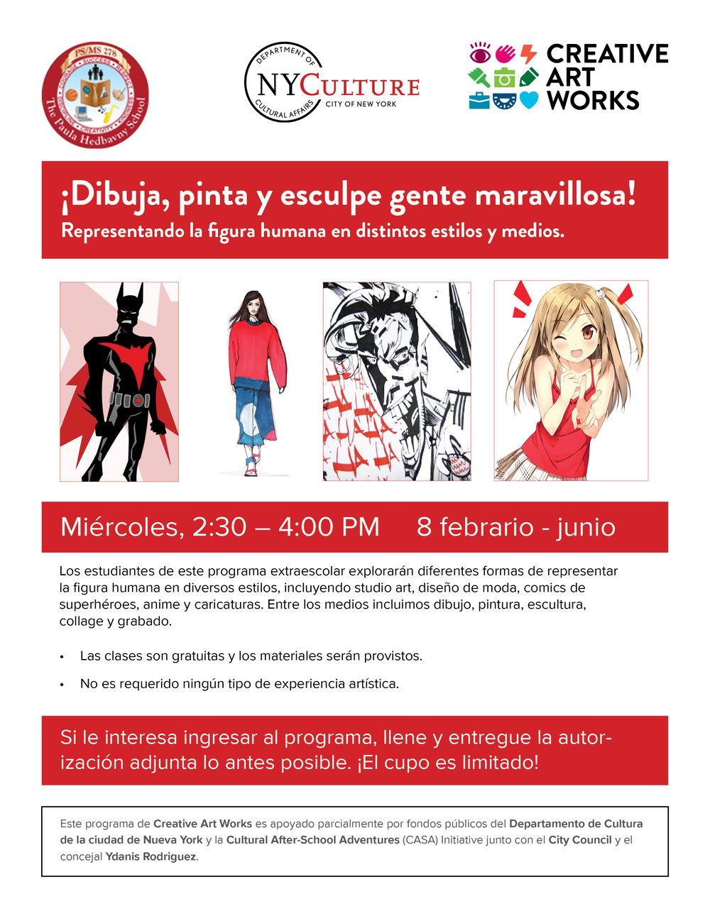 Recruitment Flyer, Spanish Language