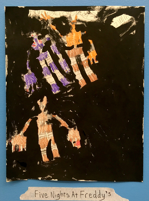 Artwork inspired by Paul Klee