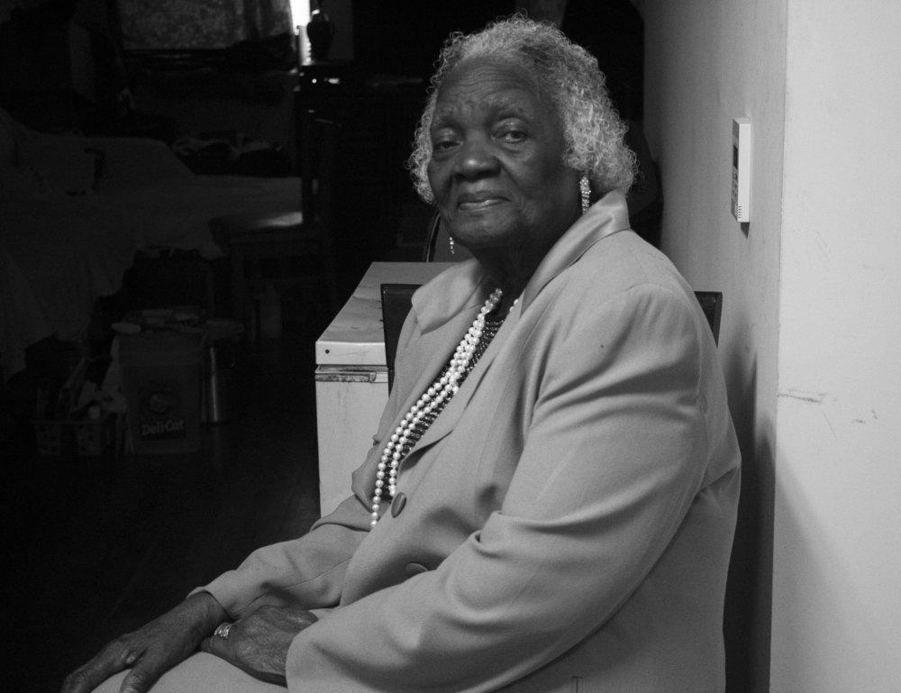 """Rosa Brooks - Rosa Brooks was born on February 24, 1923 in a small town in Georgia. She attended a high school called Cook County Training School. Rosa has six siblings and she is the second to last child.Rosa says: """"I look in the mirror and I don't see anything special about me.""""We all disagree."""
