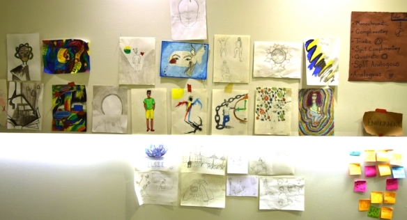 Art work and ideas paper the wall
