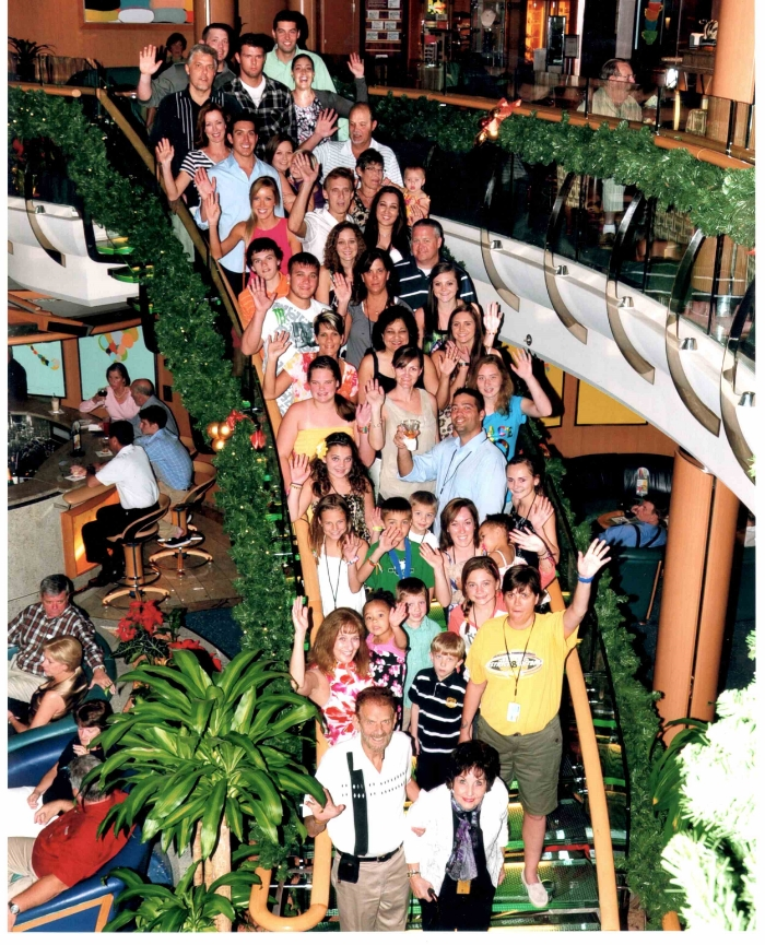 Martin Family (my side) Christmas Cruise circa 2011
