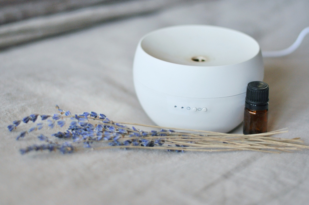 7. Try Calming Essential Oils