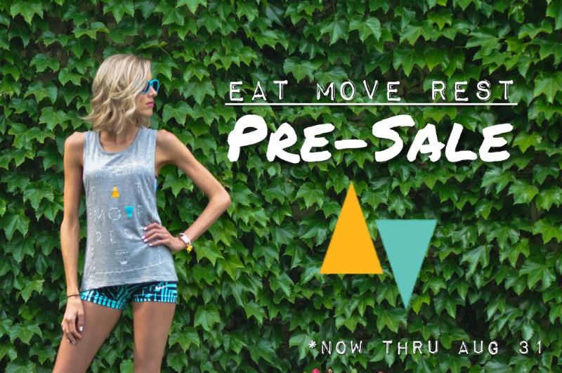 Erin Stanczyk | Lifestyle Design | eat.move.rest. | Eat Move Rest Apparel Pre-Sale