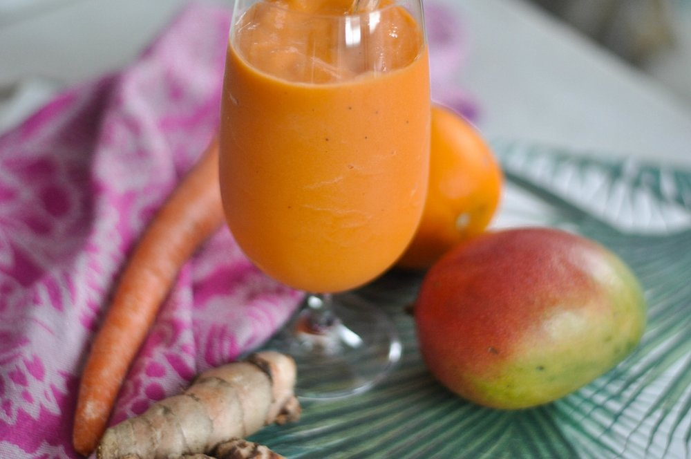 Erin Stanczyk | Lifestyle Design | eat.move.rest. | TANGERINE DREAM SPRING BREAK SMOOTHIE