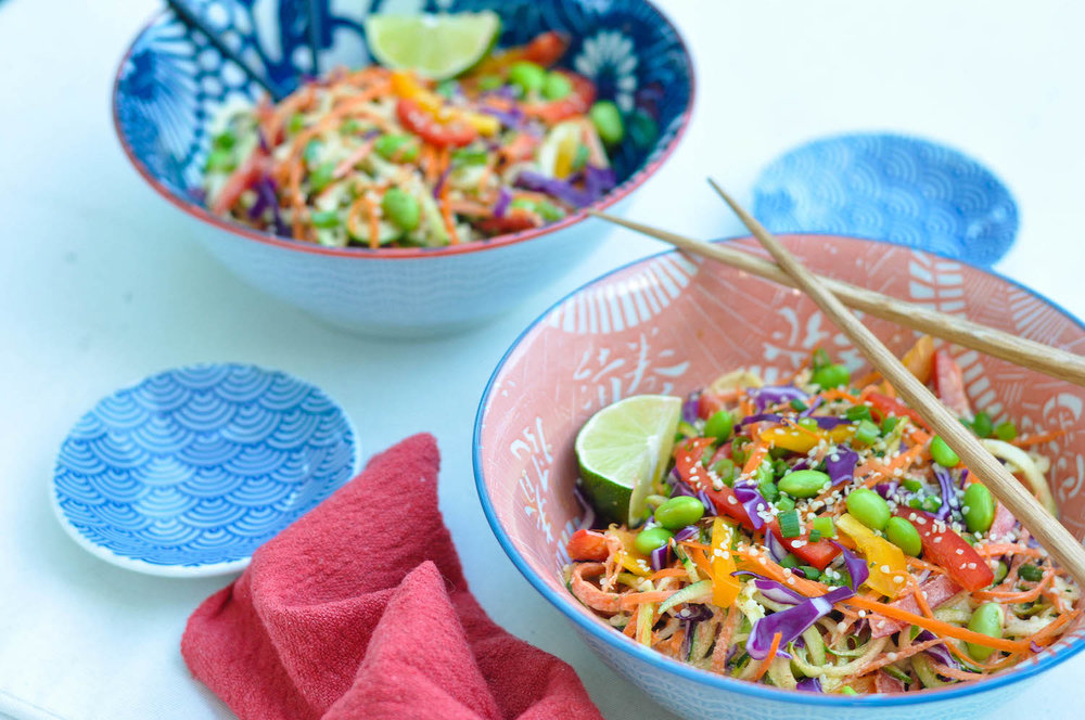 Erin Stanczyk | Lifestyle Design | eat.move.rest. | RAW RAINBOW PAD THAI