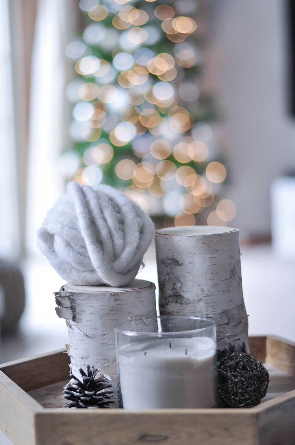 Erin Stanczyk | Lifestyle Design | EatMoveRest | A White Christmas: Holiday Home Decor