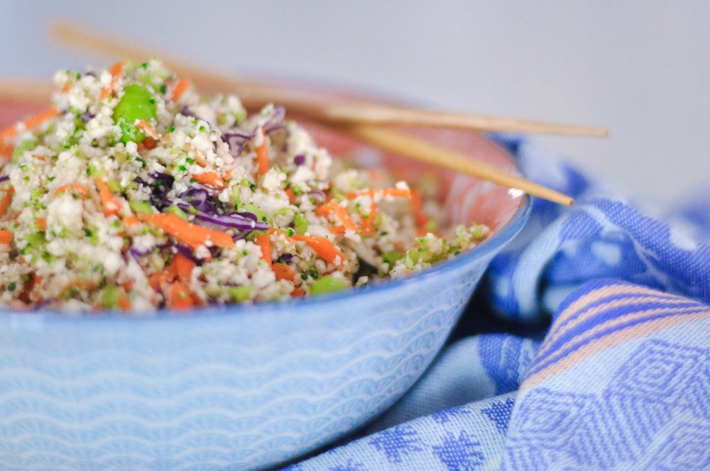Erin Stanczyk | EatMoveRest | CAULIFLOWER POWER SALAD