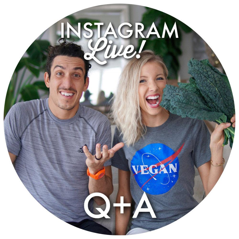 EatMoveRest Instagram Live