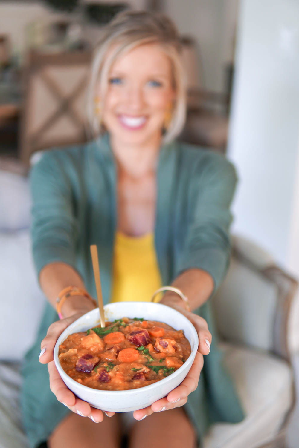 Erin Stanczyk | EatMoveRest | Rainbow Root Veggie Stew: A Plant-powered Fall Favorite