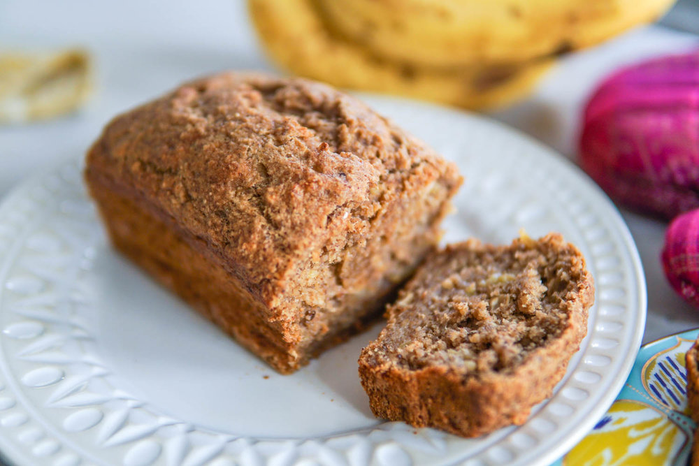 Erin Stanczyk | EatMoveRest | Homemade Banana Bread: Gluten-free + Vegan