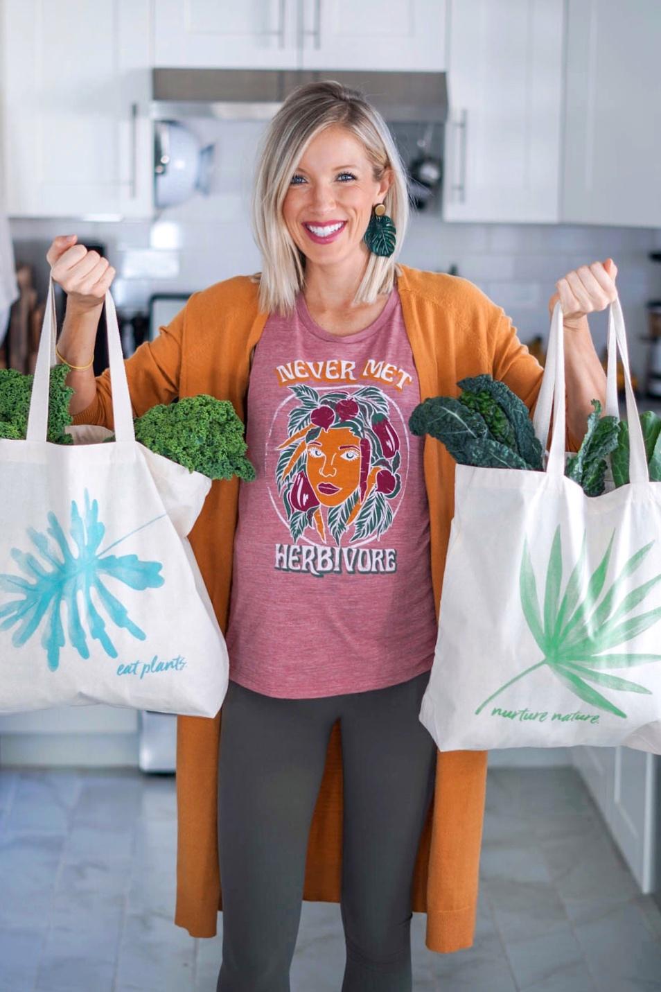 Erin Stanczyk | EatMoveRest Market Totes
