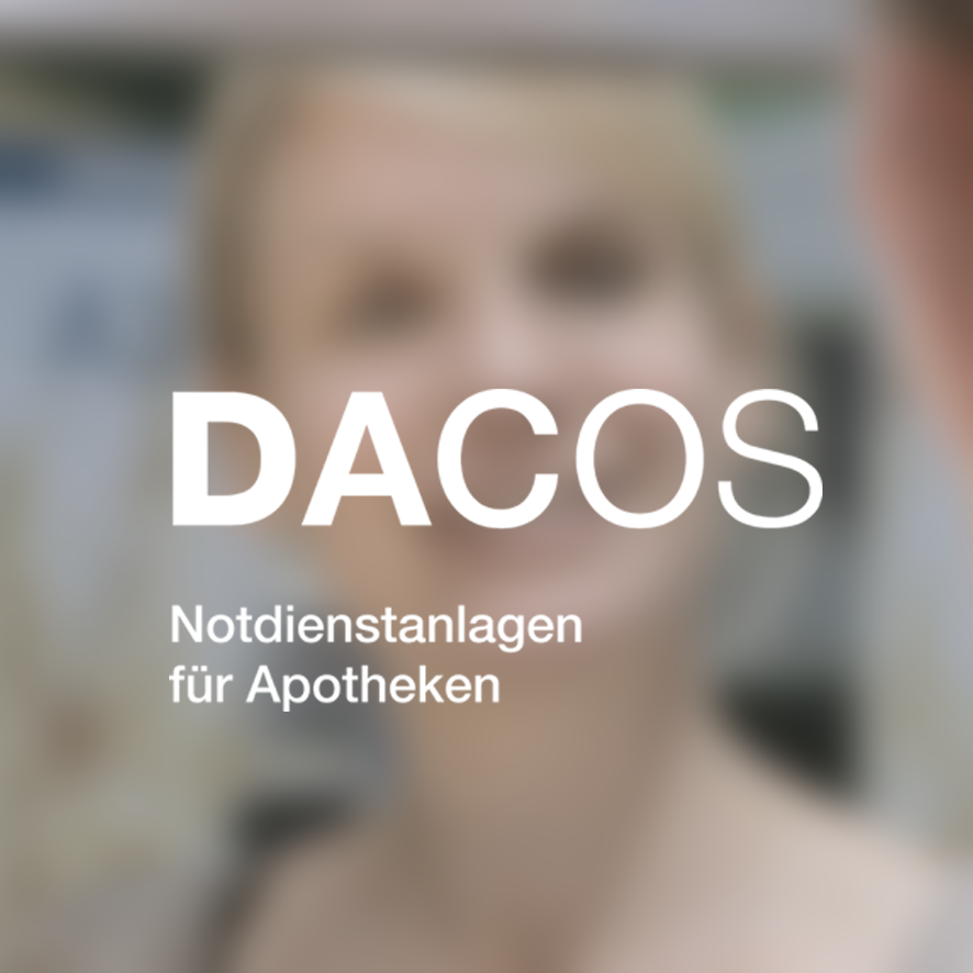 NOTDIENSTANLAGEN FÜR APOTHEKEN: PRODUKTFILM. Eine Edelstahlpatrone - gezündet für  Dacos Notdienstanlagen GmbH