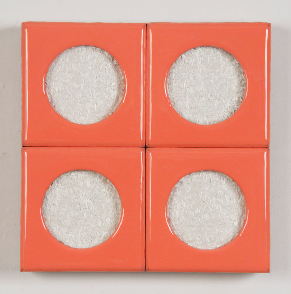 Agenda 21, 2012, resin and fiberglass on wood, 12.5 x 12.5 n