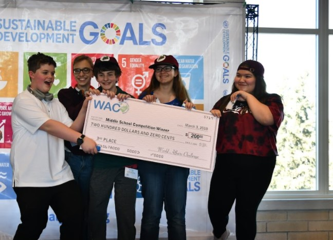 3rd Place Winner:  Mackintosh Academy  Team:  MACKAPONICS  Topic:  Hunger/Food Security - The students have determined that aquaponics is a viable solution to the hunger issue in Puerto Rico.