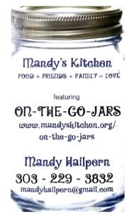 Copy of Mandy's Kitchen: On the Go Jars