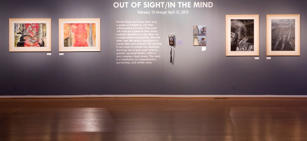 """Out Of Sight/In The Mind"" at Kimball Art Center in Park City, 2015"