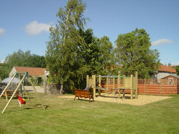 Play area - Beech Farm Cottages