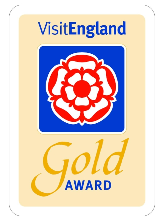 Rated 4 sTar Gold by VisitEngland October 2016