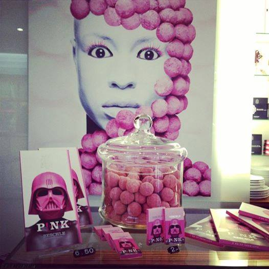 A world in P!NK at Beschle Chocolatier in Basel