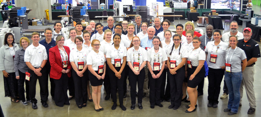 458b7a935 Printing students win medals at SkillsUSA National Competition