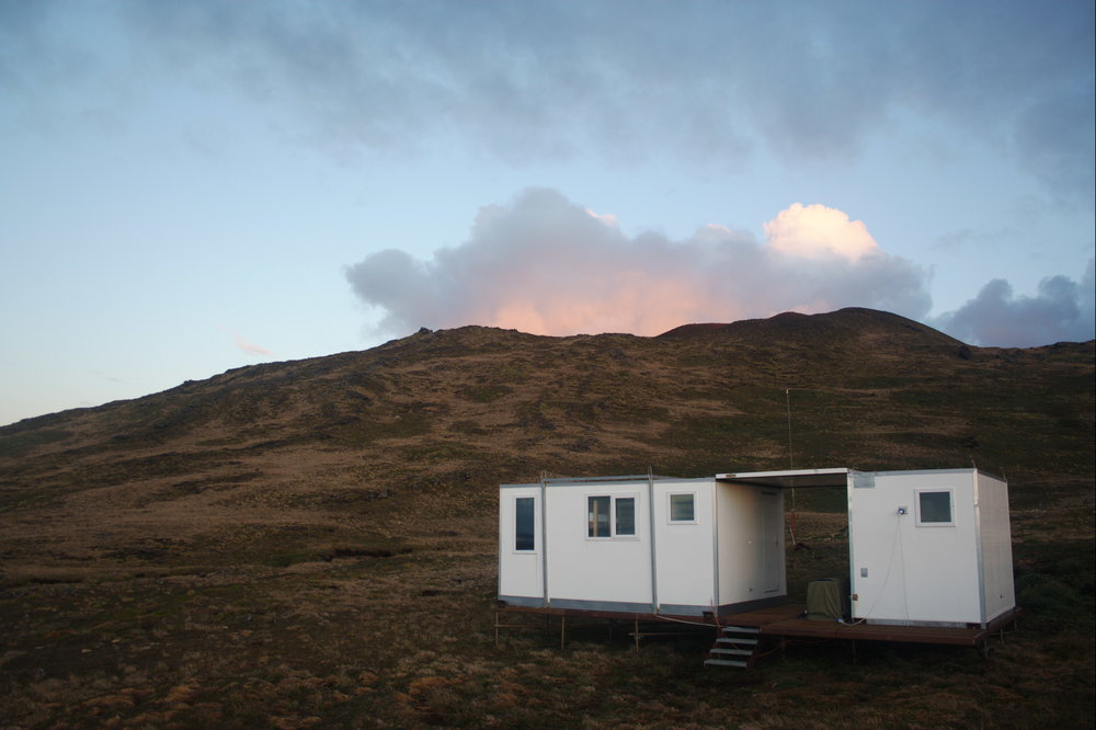Current Cape Davis modular hut - 2007 onwards.