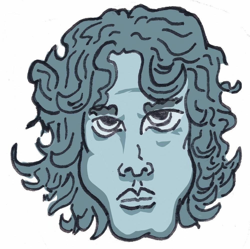 Jim Morrison IllustrationbyThomas Gallegos