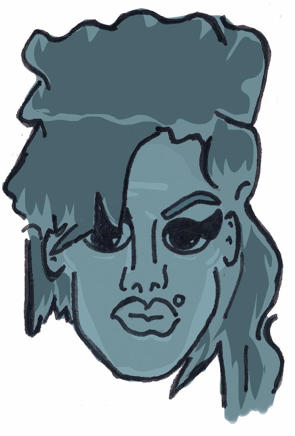 Amy WinehouseIllustration by Thomas