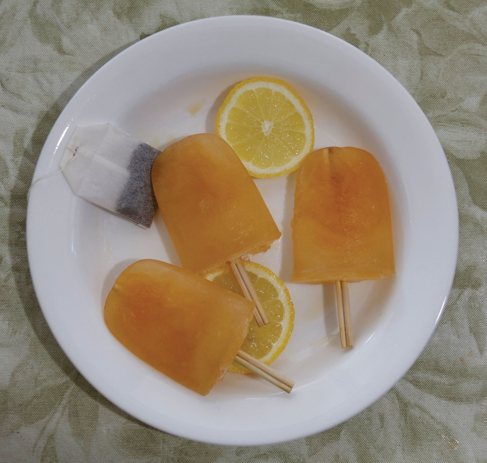 For a fun snack or dessert you can make Arnold Palmer popsicles. Photo by Vanessa Saenz.