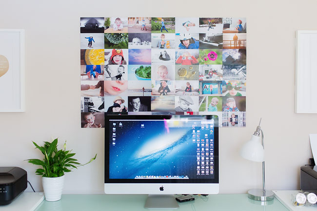 How to make a photo collage on computer