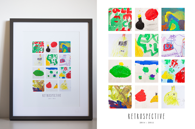 My Ideas for Displaying & Saving Kids Artwork — LIVE SNAP LOVE