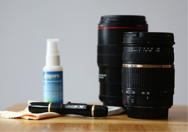 How to maintain your camera and lenses - how to clean them, check your sensor for dust spots, and keep everything free from harm!