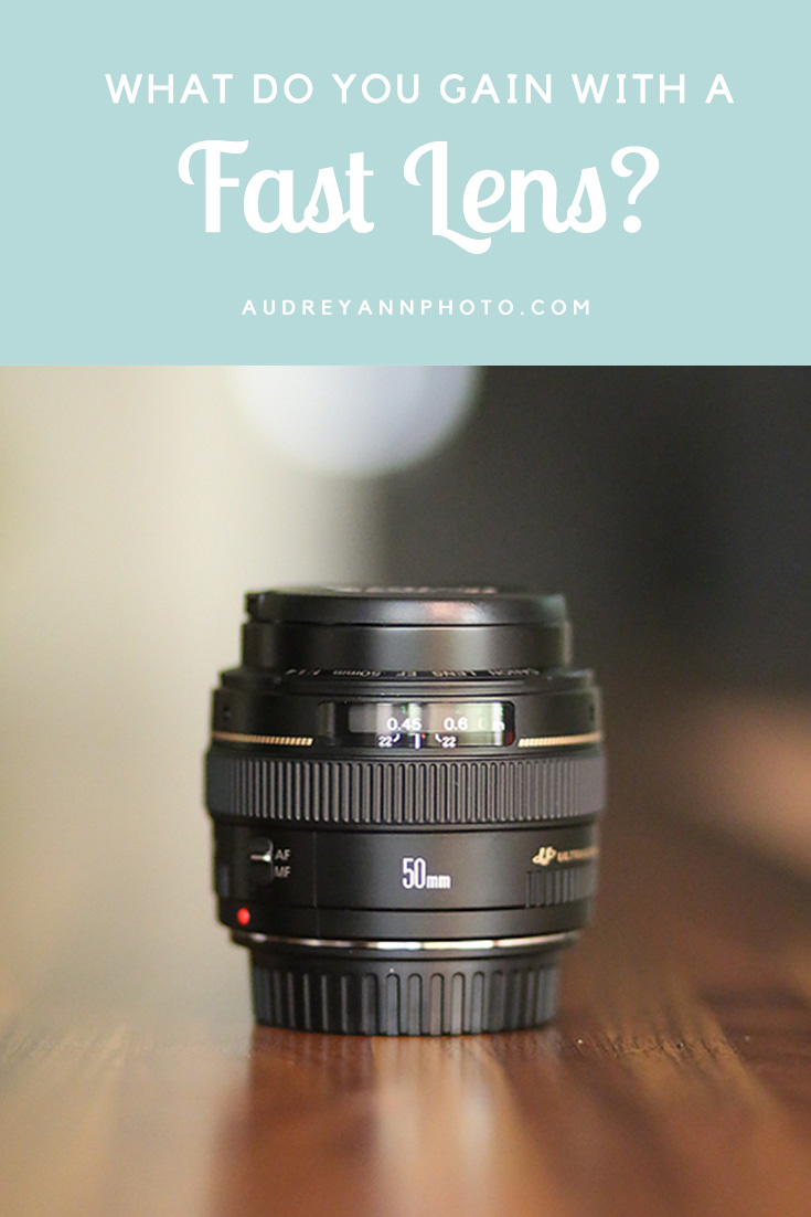 Photography Gear:   What a fast lens is, and see exactly what you can gain by having one.
