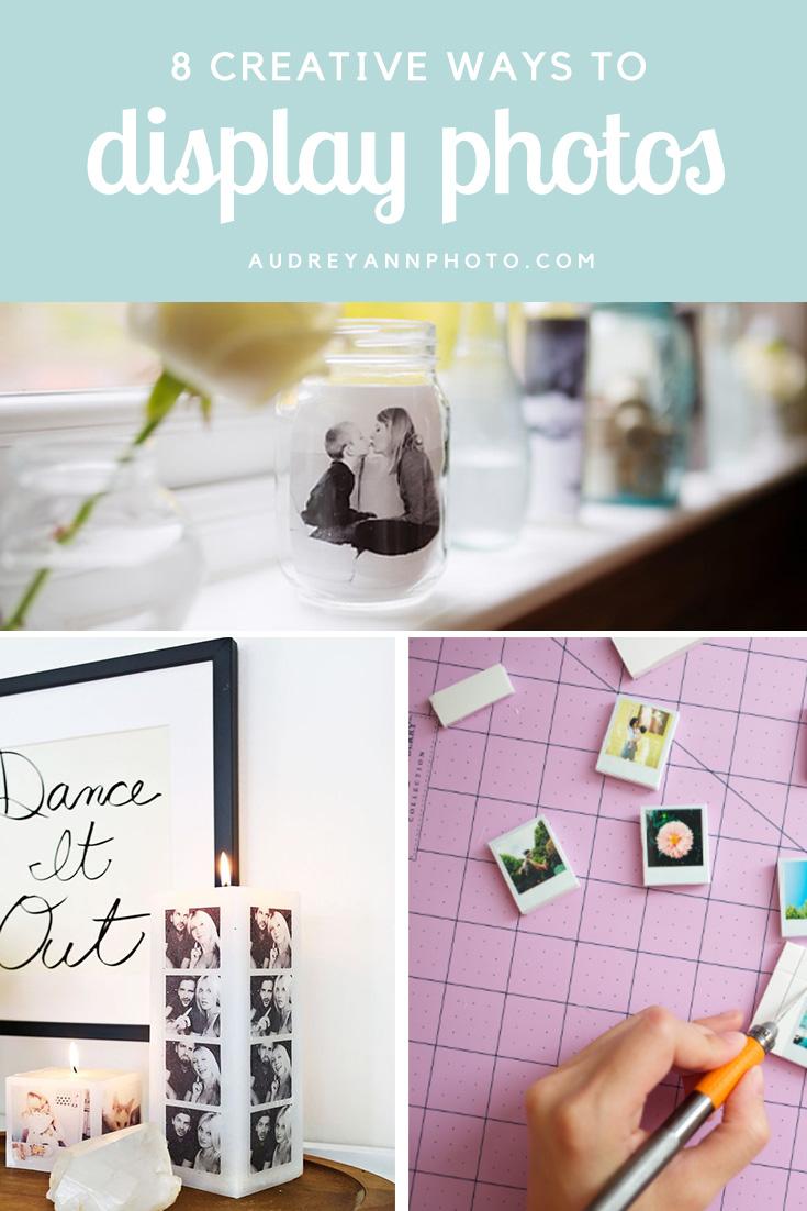 8 Great Ways to Display Photos
