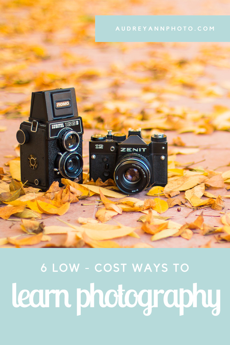6 Low Cost Ways to Learn Photography