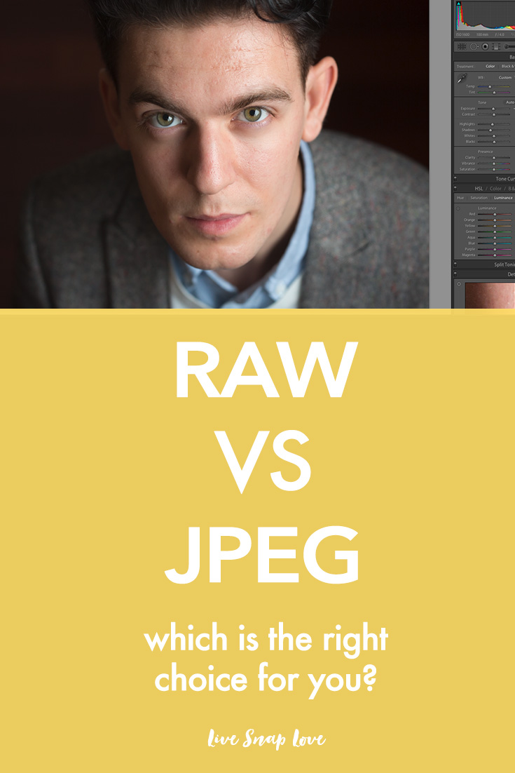 Photography Tips | RAW vs JPEG