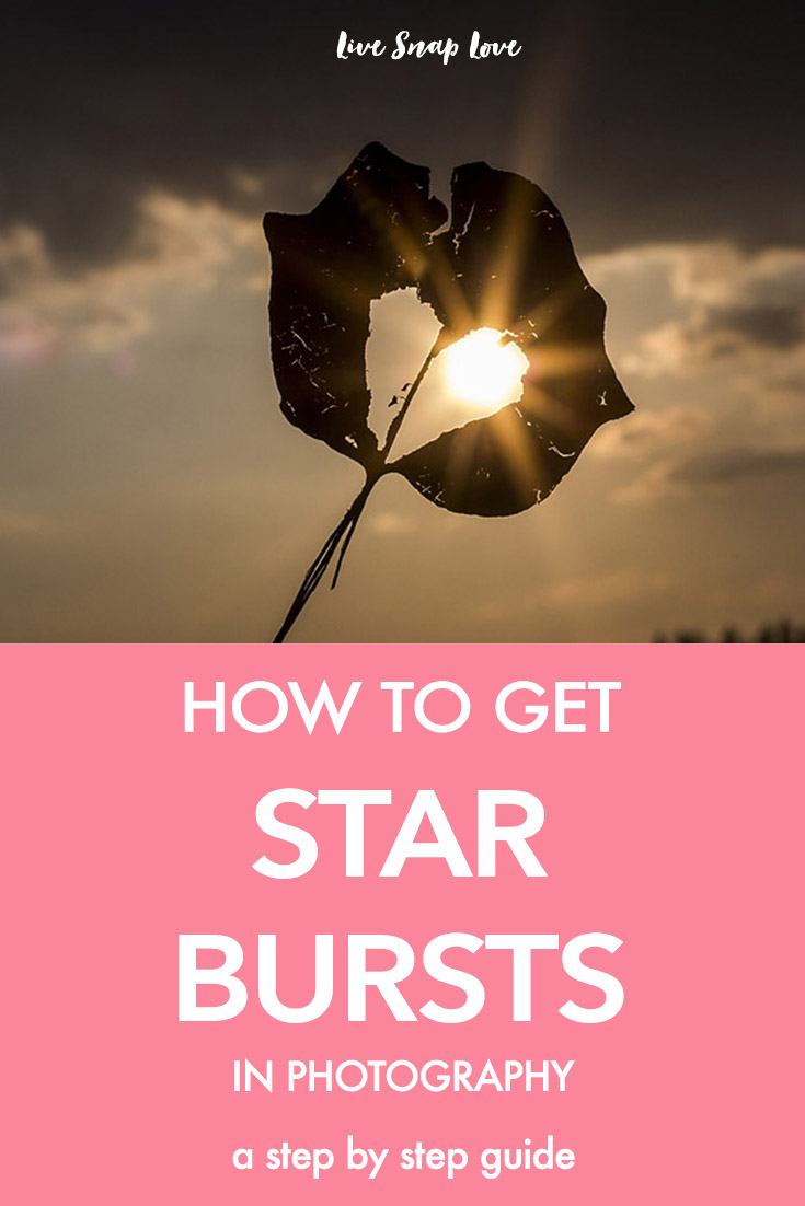 A step by step guide on how to get starbursts in your images (and it's easier than you think) Click through to read how to do it!