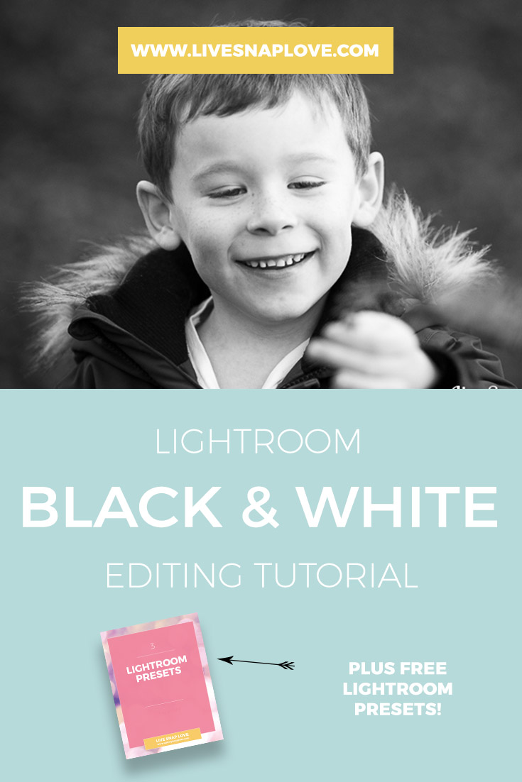 Lightroom Black & White Editing Tutorial | How to convert an image to black and white in Lightroom