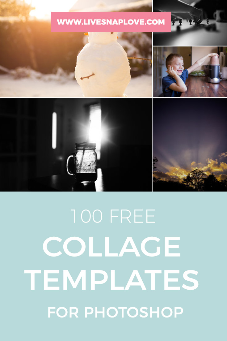 free photoshop collage and storyboard templates live snap love