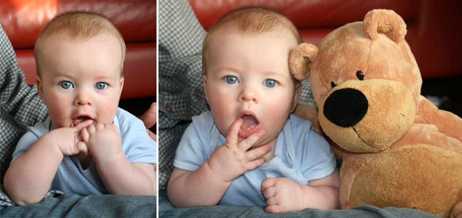 First photos of my son taken on my DSLR Canon 400D