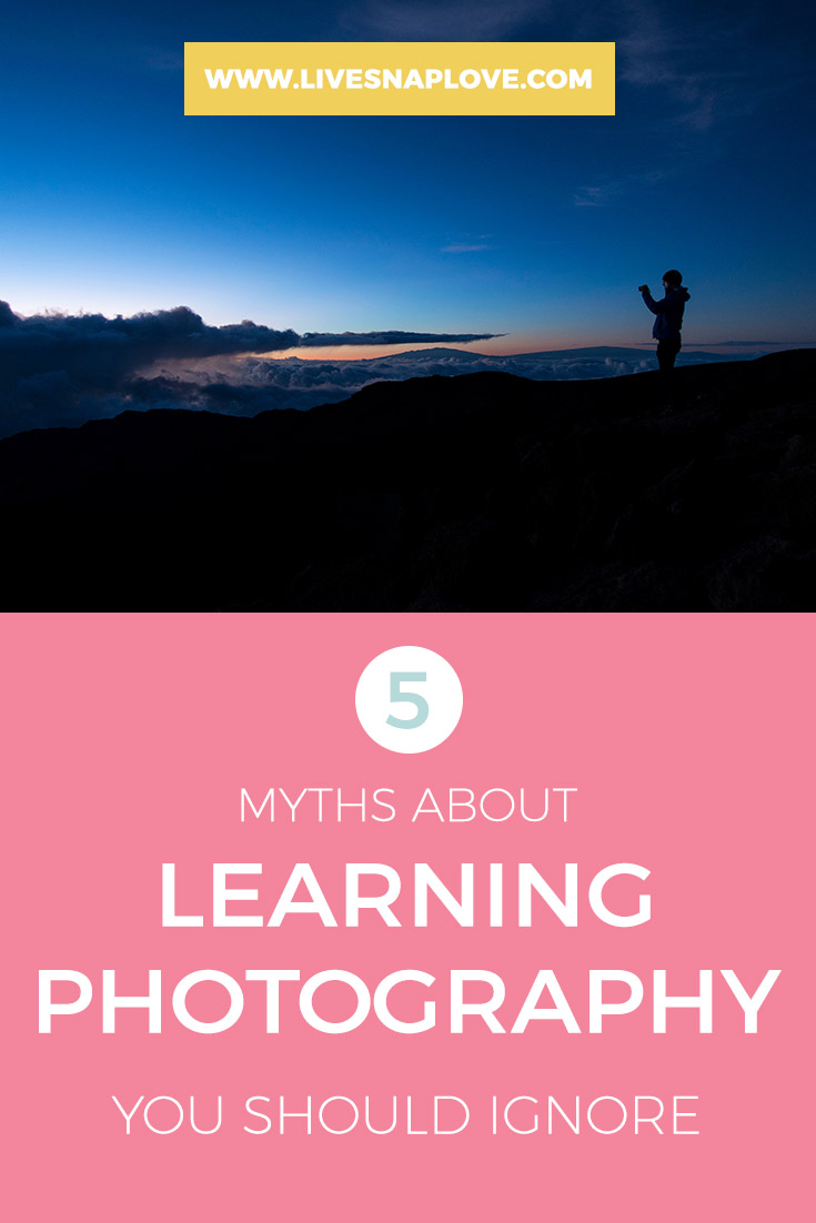 Photography Tips for Beginners | 5 myths about learning photography you should ignore!