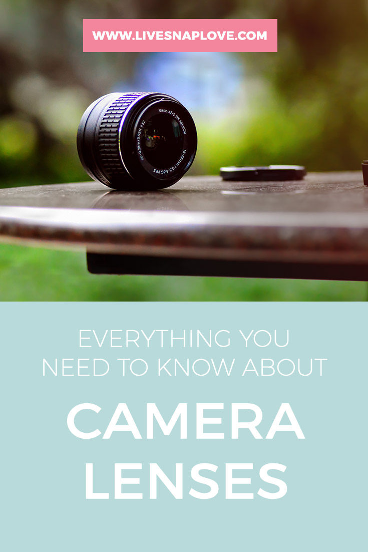 Photography Tips - Everything you need to know about lenses for your DSLR!