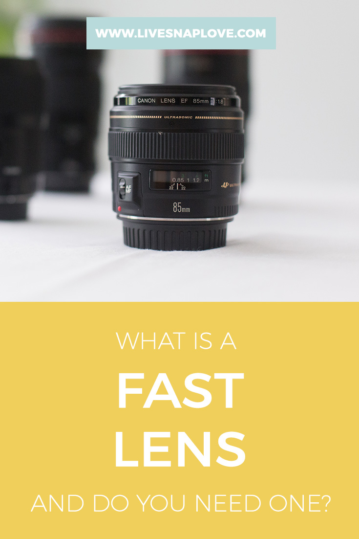 Photography Gear | What is a fast lens and do you need one?