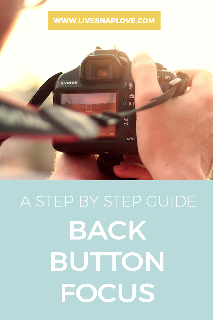 Photography Tips | Focusing Tips | How to use Back Button Focus