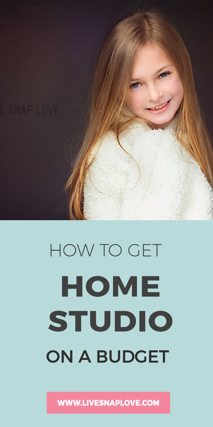 How to set up a photography studio in your home on a budget