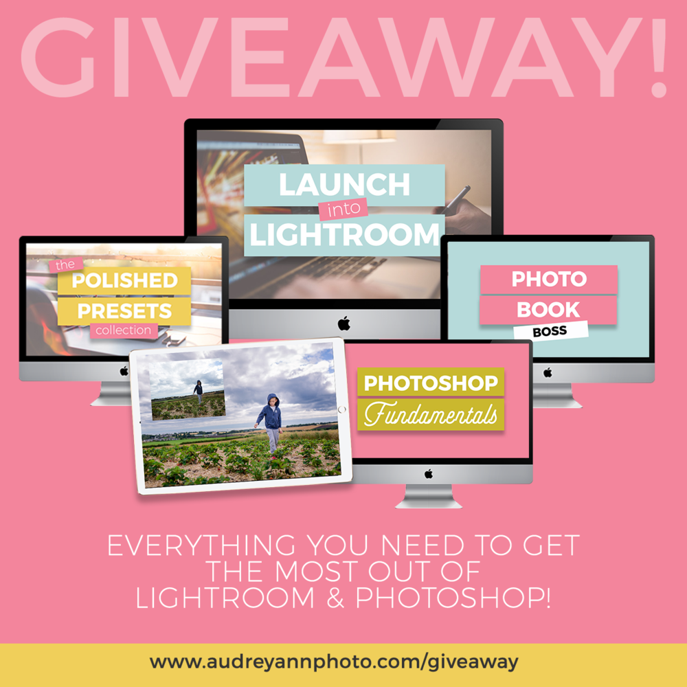 Launch Into Lightroom Giveaway